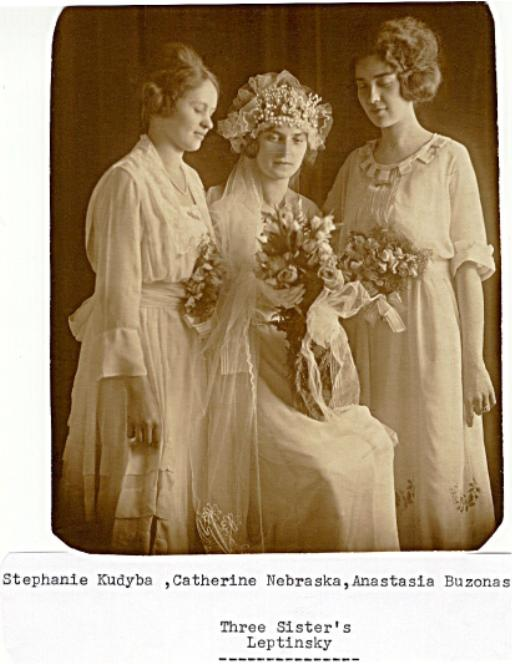 Three Leptinsky Sisters - Stephanie Kudyba, Catherine Nebraska and Anastasia Buzonas