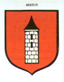 Herb miasta Bieďż˝uďż˝