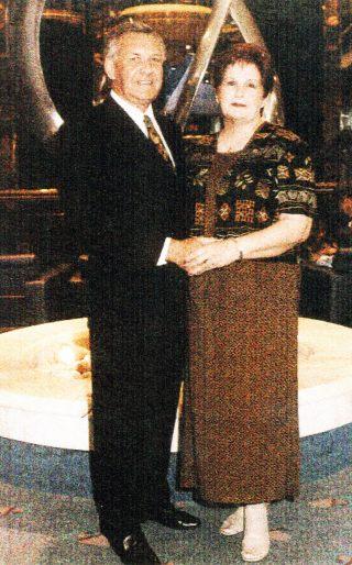 Eddie and Carolyn Lysek - Watson, 2002