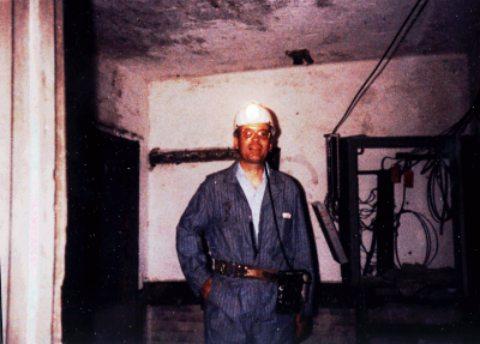 Buckeye Coal Mine: Dispatcher's Office underground