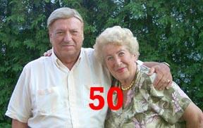 50th Anniversary, Jan Zielinski, Marysia Zielinska, Ottawa