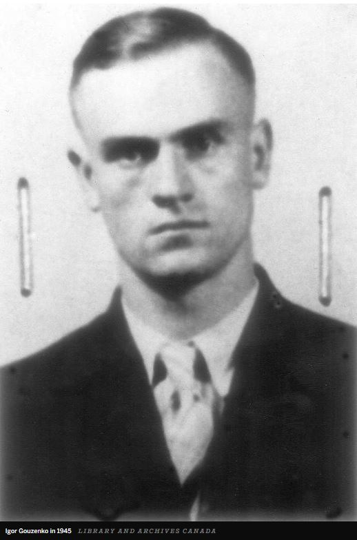 Igor Gouzenko: passport photo
