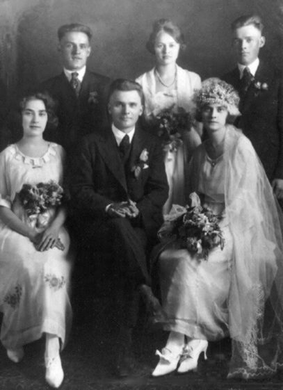 Marriage of Katherine Leptinsky to John Nebraska