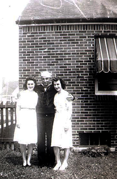 Mary, Mike Jr. and Ann Nemesh.