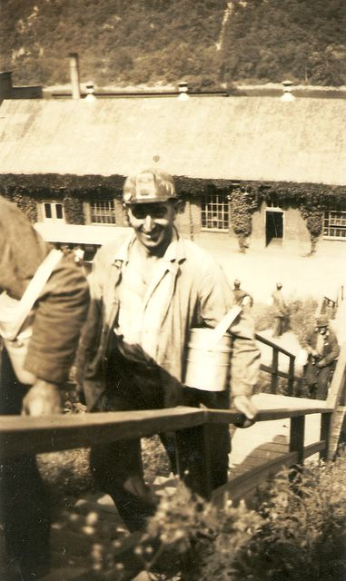 Mike Sr. coming out of the Buckeye Mine in Nemacolin.