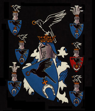 Lipczyński Family entitled to display the Slepowron Arms